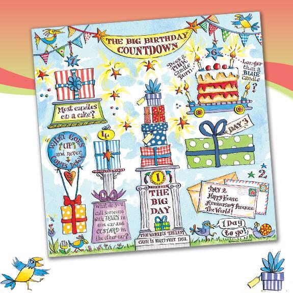 birthday countdown card phoenix trading