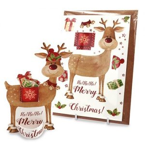 Rudolph Get Ready Card Design